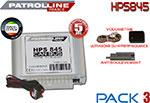 Alarme Patrol Line HPS845 - Pack 3